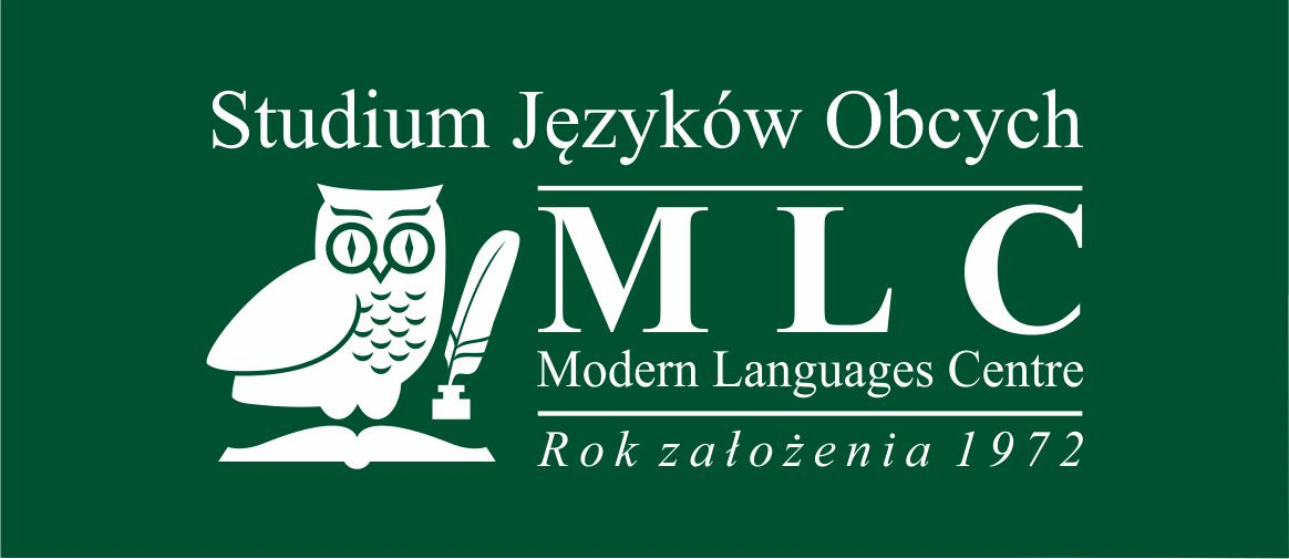 Logo Studium Języków Obcych Modern Languages Center Sp. z o. o. Spółka Jawna
