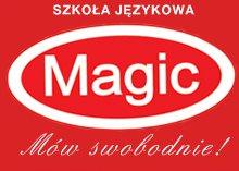 """Logo Aleksandra Orzeł, """"Magic"""" Kursy Języka Angielskiego i Niemieckiego"""