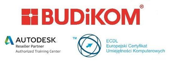 Logo BUDiKOM Komputerowe Wspomaganie Projektowania Jacek Rogoziński