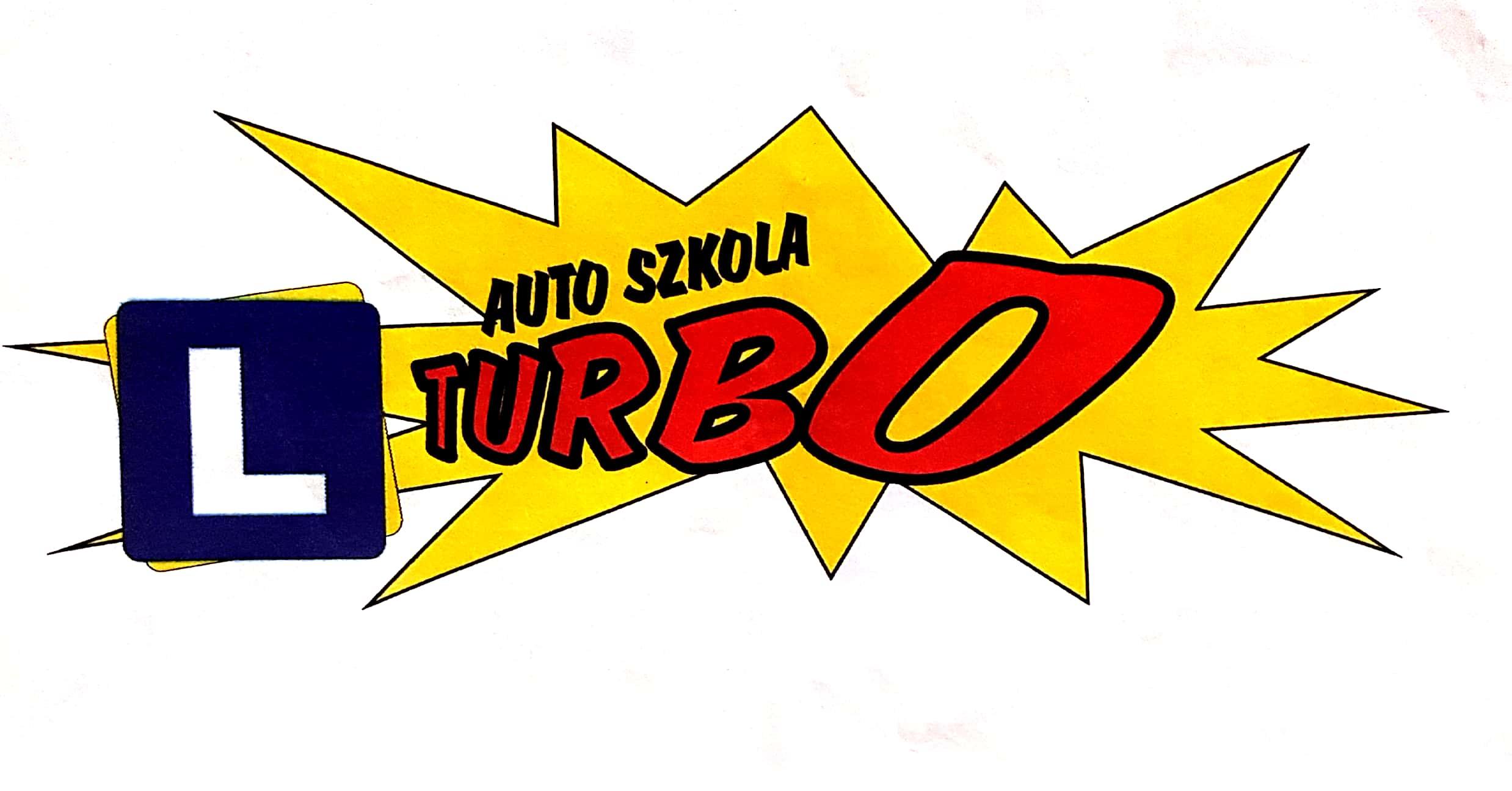 """Logo OŚRODEK SZKOLENIA KIEROWCÓW AUTO SZKOŁA """"TURBO"""" MONIKA KOZŁOWSKA"""