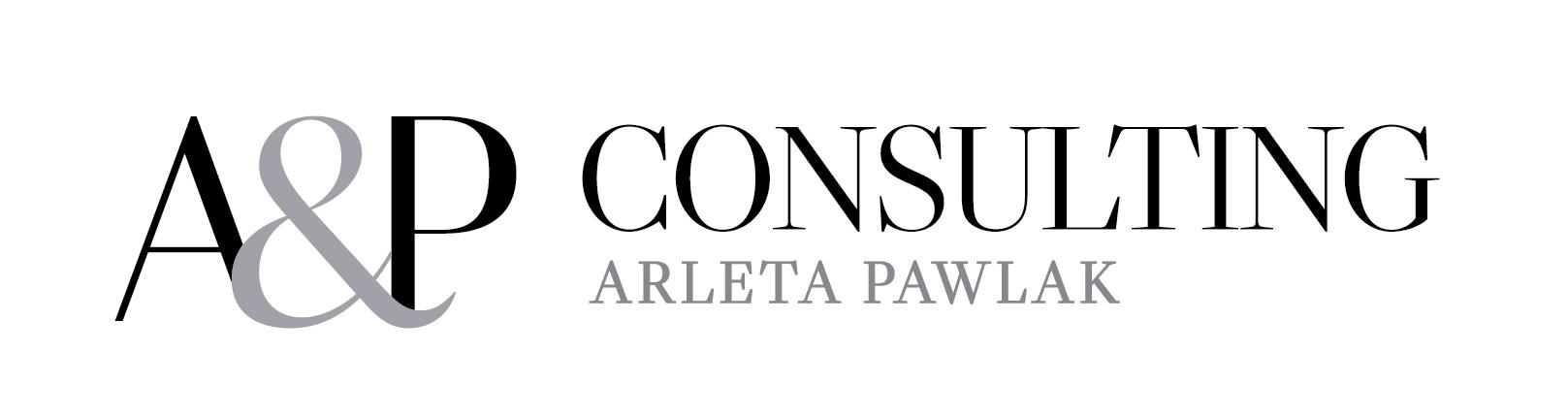 "Logo ""A&P CONSULTING"" ARLETA PAWLAK"