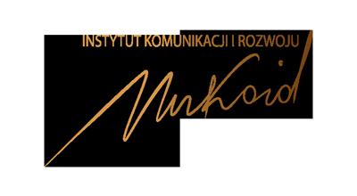 Logo EWA MUKOID INSTYTUT MUKOID KOMUNIKACJA DLA ROZWOJU