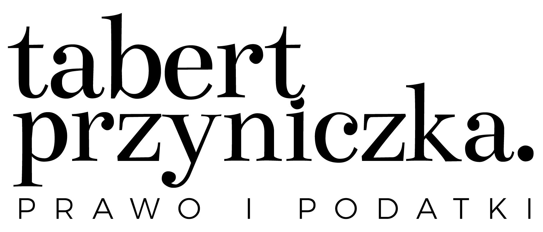 Logo Kancelaria Radców Prawnych Tabert Przyniczka spółka jawna