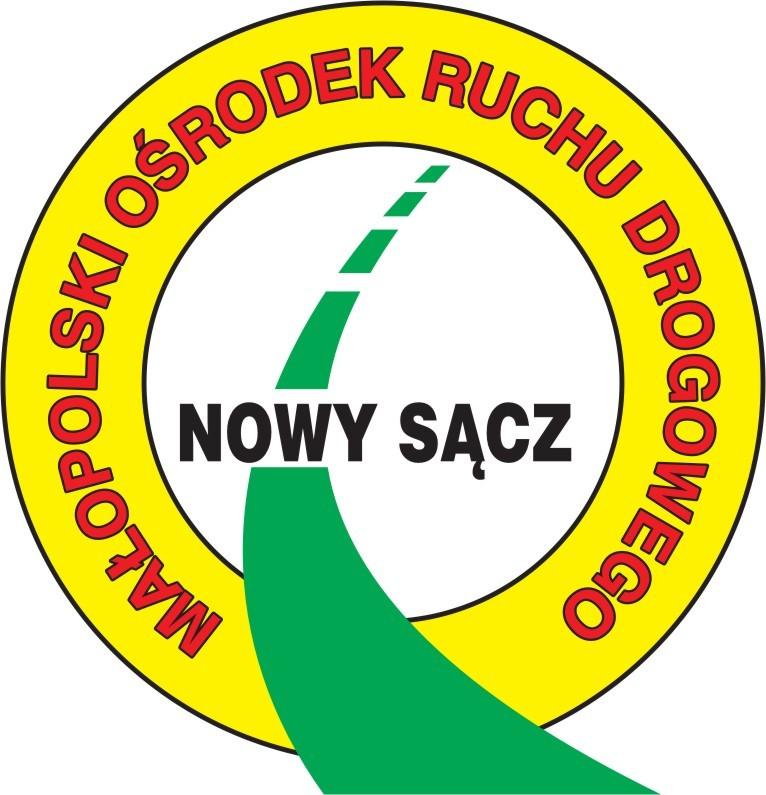 Logo Małopolski Ośrodek Ruchu Drogowego w Nowym Sączu