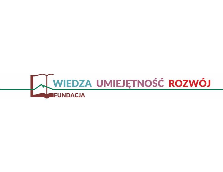 Logo Fundacja Wiedza Umiejętność Rozwój