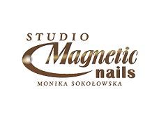 Logo Studio Magnetic Nails Monika Sokołowska