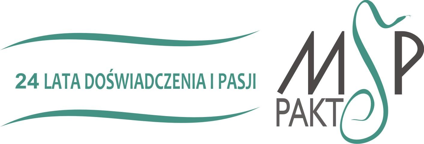 Logo Medyczne Szkolenia Podyplomowe Pakt Joanna Cybulska