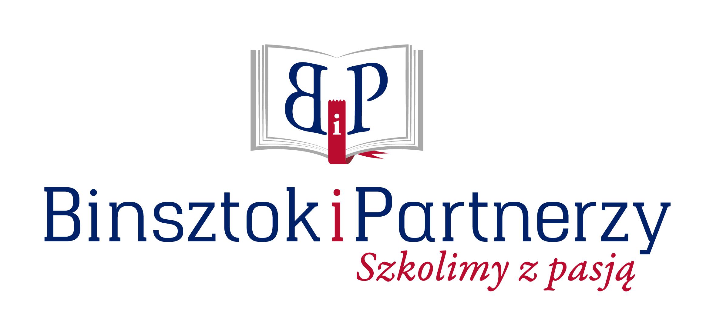 """Logo FIRMA SZKOLENIOWO-USŁUGOWA """"BINSZTOK I PARTNERZY"""" ALEKSANDER BINSZTOK"""