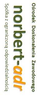 Logo Ośrodek Doskonalenia Zawodowego norbert-adr spółka z ograniczoną odpowiedzialnością