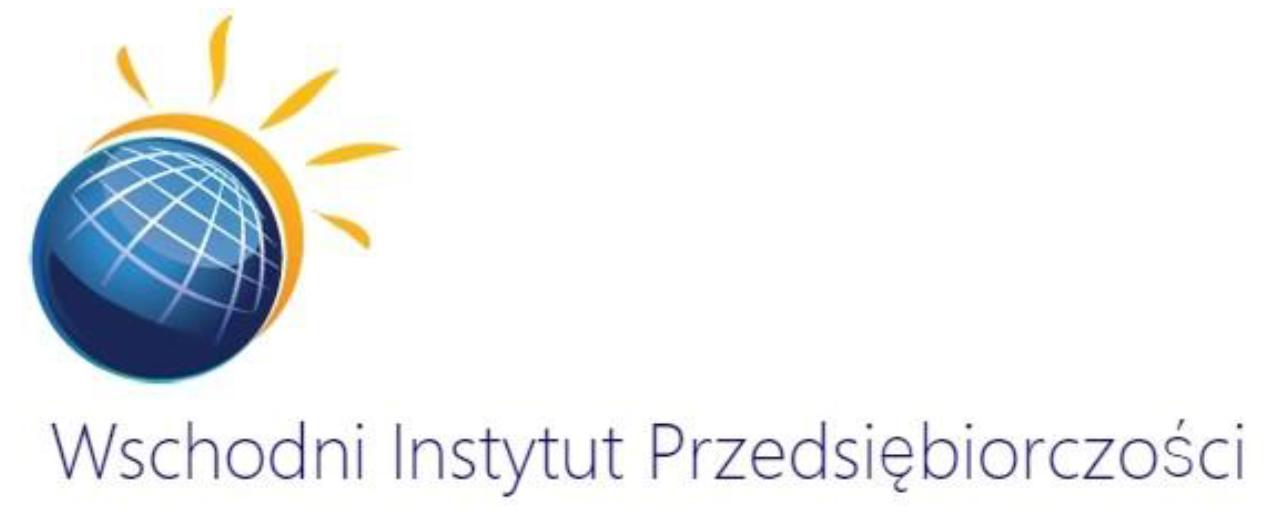 Logo Wschodni Instytut Przedsiębiorczości Spółka z ograniczoną odpowiedzialnością