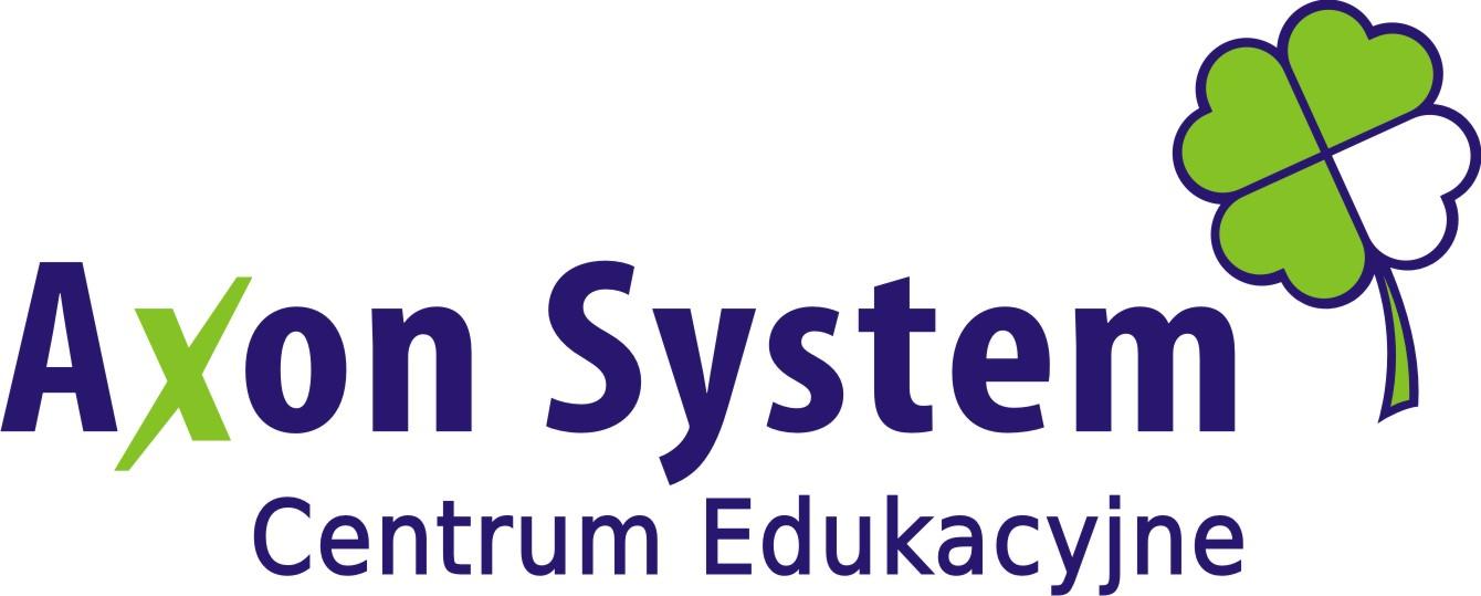 Logo Axon System Paweł Hejduk Monika Boroń Spółka Cywilna
