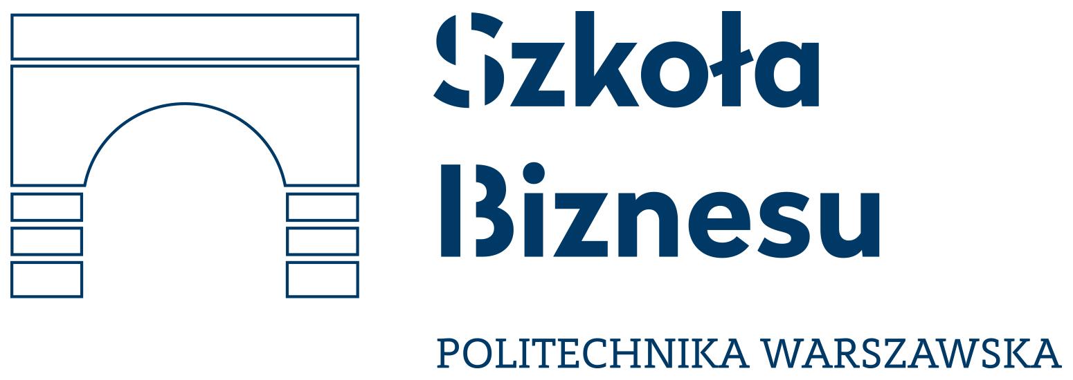 Logo Politechnika Warszawska Szkoła Biznesu
