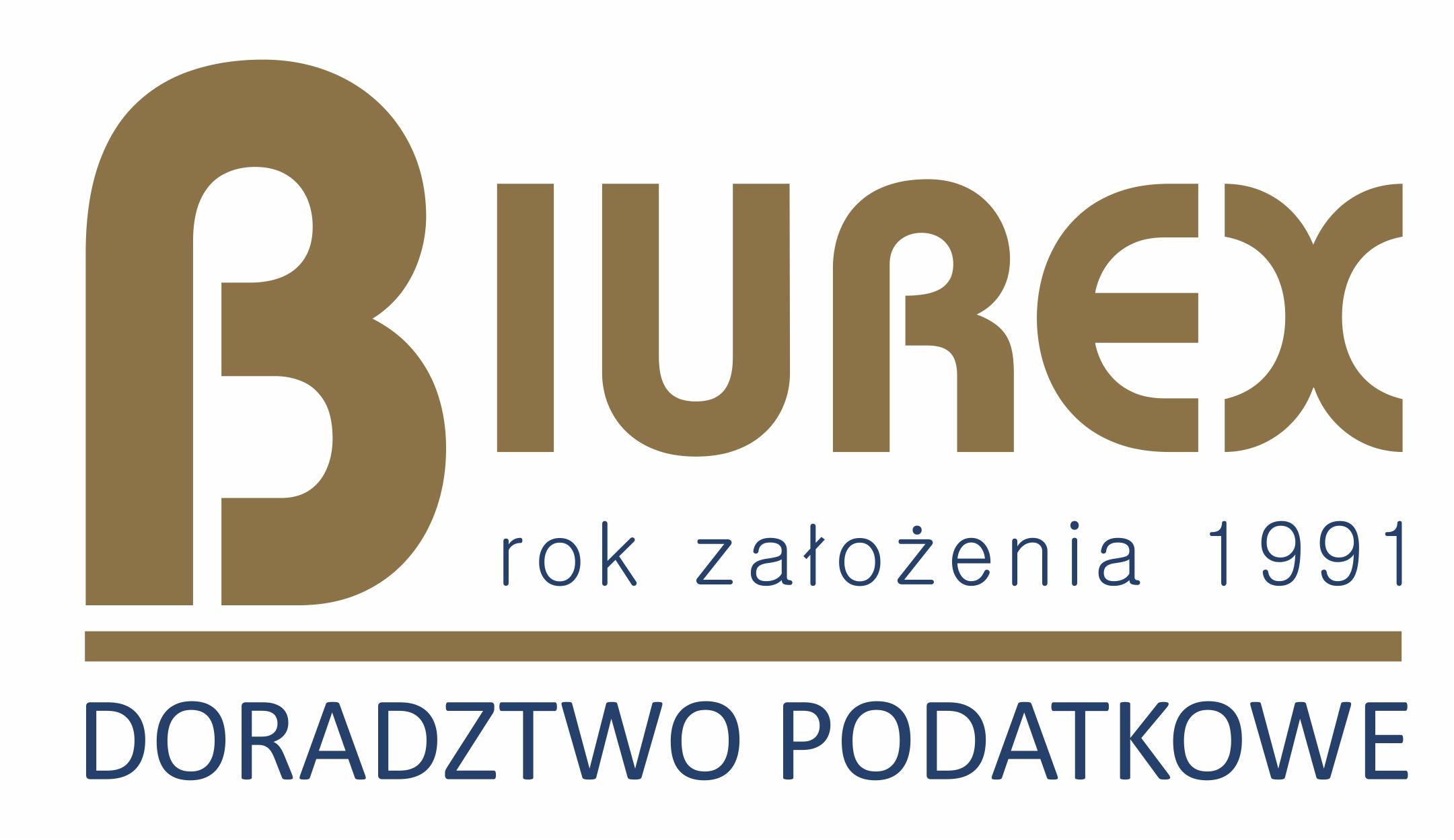 Logo BIURO RACHUNKOWE BIUREX SPÓŁKA Z OGRANICZONĄ ODPOWIEDZIALNOŚCIĄ