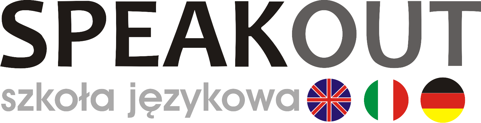 """Logo Marta Szymańska- Baran """"SPEAK OUT""""  Słodkie Życie S.C. wspólnik spółki Marta Szymańska- Baran"""