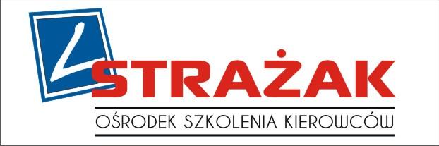"""Logo Ośrodek Szkolenia Kierowców """"Strażak"""" Tomasz Dolata"""