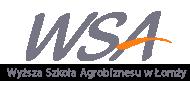 Logo Wyższa Szkoła Agrobiznesu w Łomży