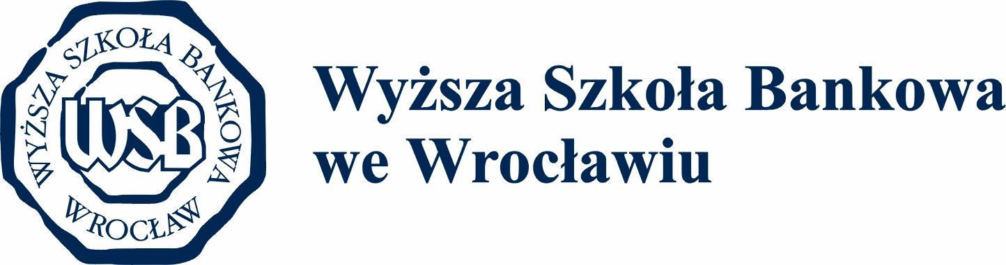 Logo Wyższa Szkoła Bankowa we Wrocławiu