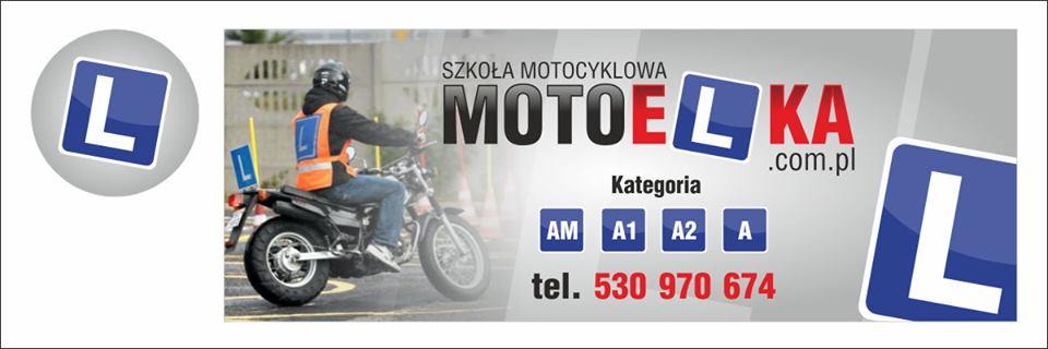 Logo Krystyna Kuca Szkoła Motocyklowa MOTOELKA