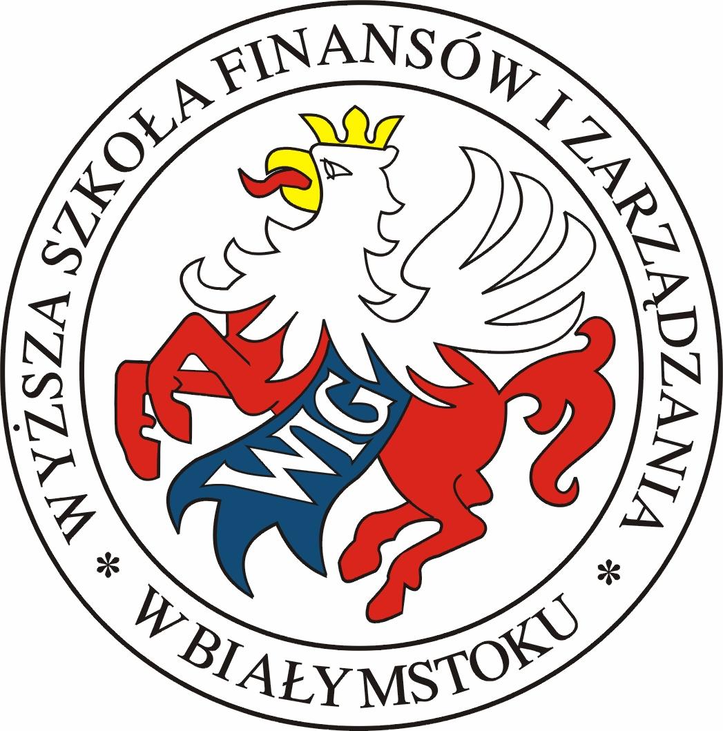 Logo Wyższa Szkoła Finansów i Zarządzania w Białymstoku