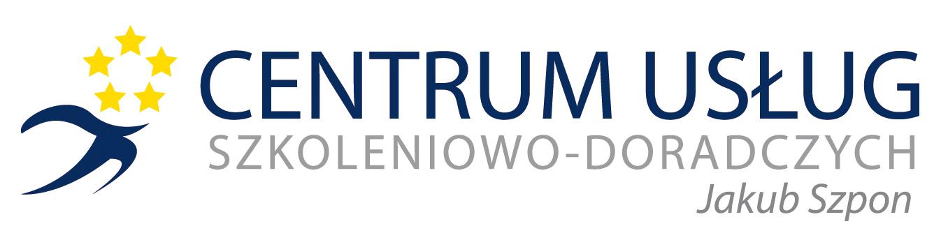 Logo Centrum Usług Szkoleniowo-Doradczych Jakub Szpon