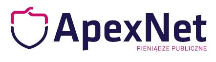 Logo ApexNet sp. z o.o. sp. k.
