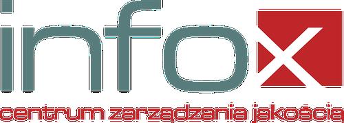 Logo Centrum Zarządzania Jakością INFOX Spółka z ograniczoną odpowiedzialnością Spółka komandytowa