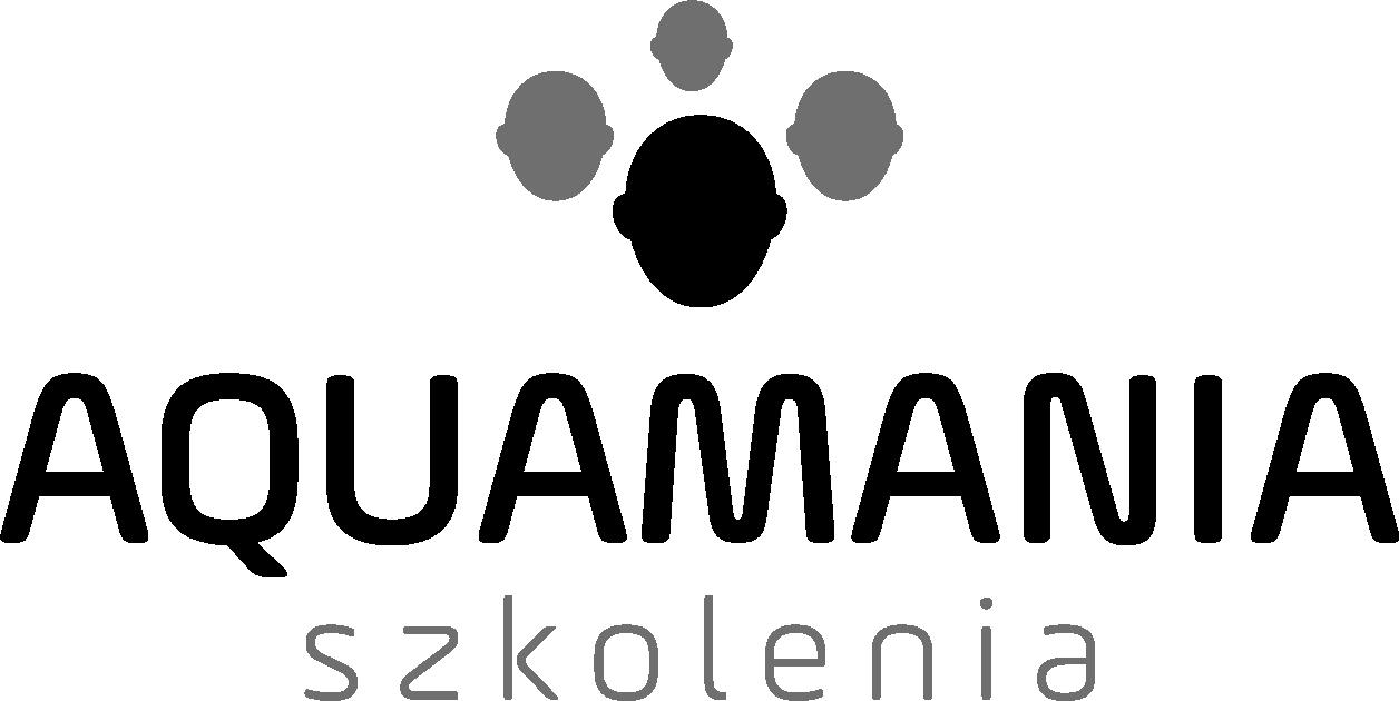 """Logo """"PRZEDSIĘBIORSTWO HANDLOWO-USŁUGOWE """"AQUAMANIA"""" MAGDALENA DĄBROWSKA"""""""