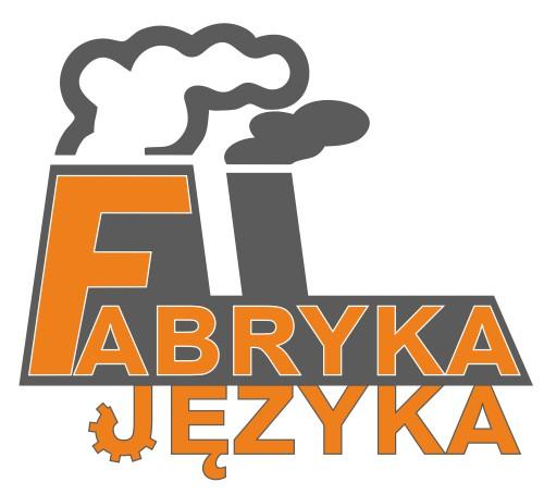 Logo Szkoła Języków Obcych Fabryka Języka K. Skawińska Czarnul, E. Majcherek S.C.