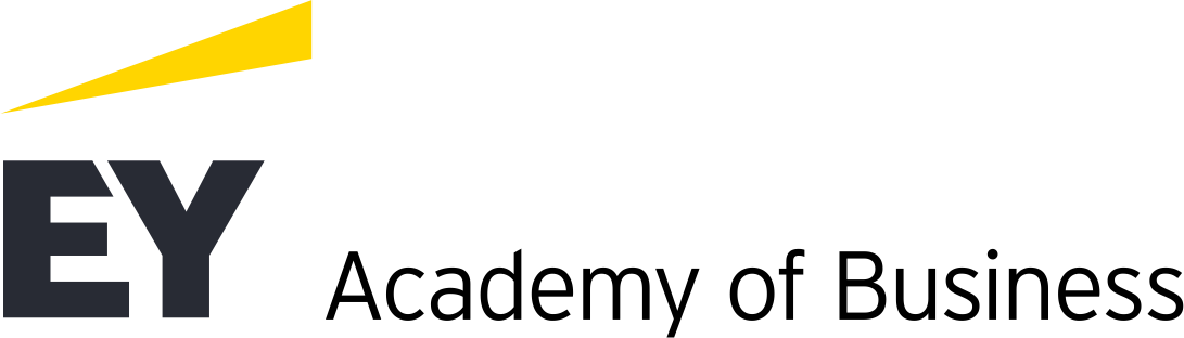 Logo Ernst & Young spółka z ograniczoną odpowiedzialnością Academy of Business sp. k.