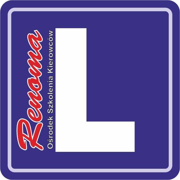 Logo Ośrodek Szkolenia Kierowców Renoma Tadeusz Dzięglewicz