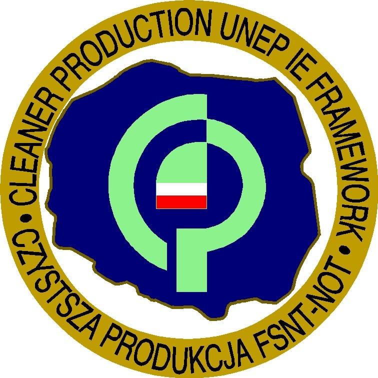 Logo Stowarzyszenie Polski Ruch Czystszej Produkcji