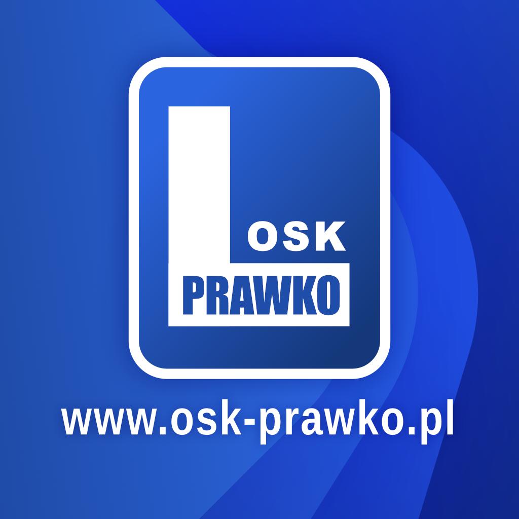 """Logo Ośrodek Szkolenia Kierowców """"PRAWKO"""" Chmura Dorota"""