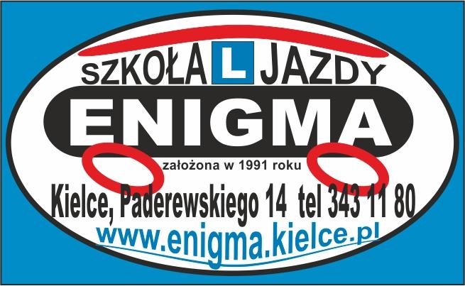 Logo Ośrodek Szkoleń ENIGMA s.c. A.M.Pluta