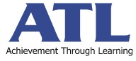 "Logo ATL ""ACHIEVEMENT THROUGH LEARNING"" SP. Z O.O."