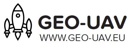 Logo GEO-UAV Justyna Zdanowska