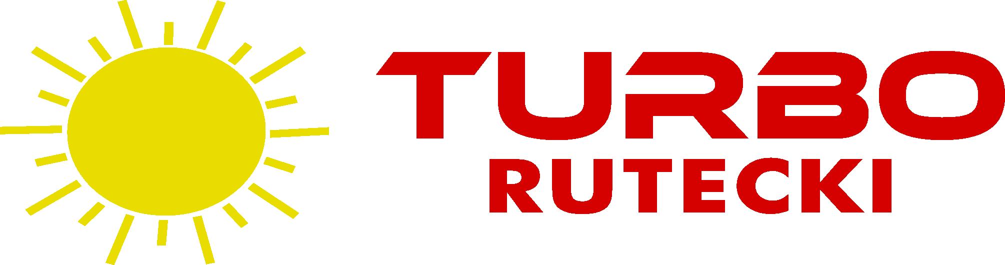 """Logo PRZEDSIĘBIORSTWO HANDLOWO-USŁUGOWE """"TURBO"""" RUTECKI JÓZEF"""