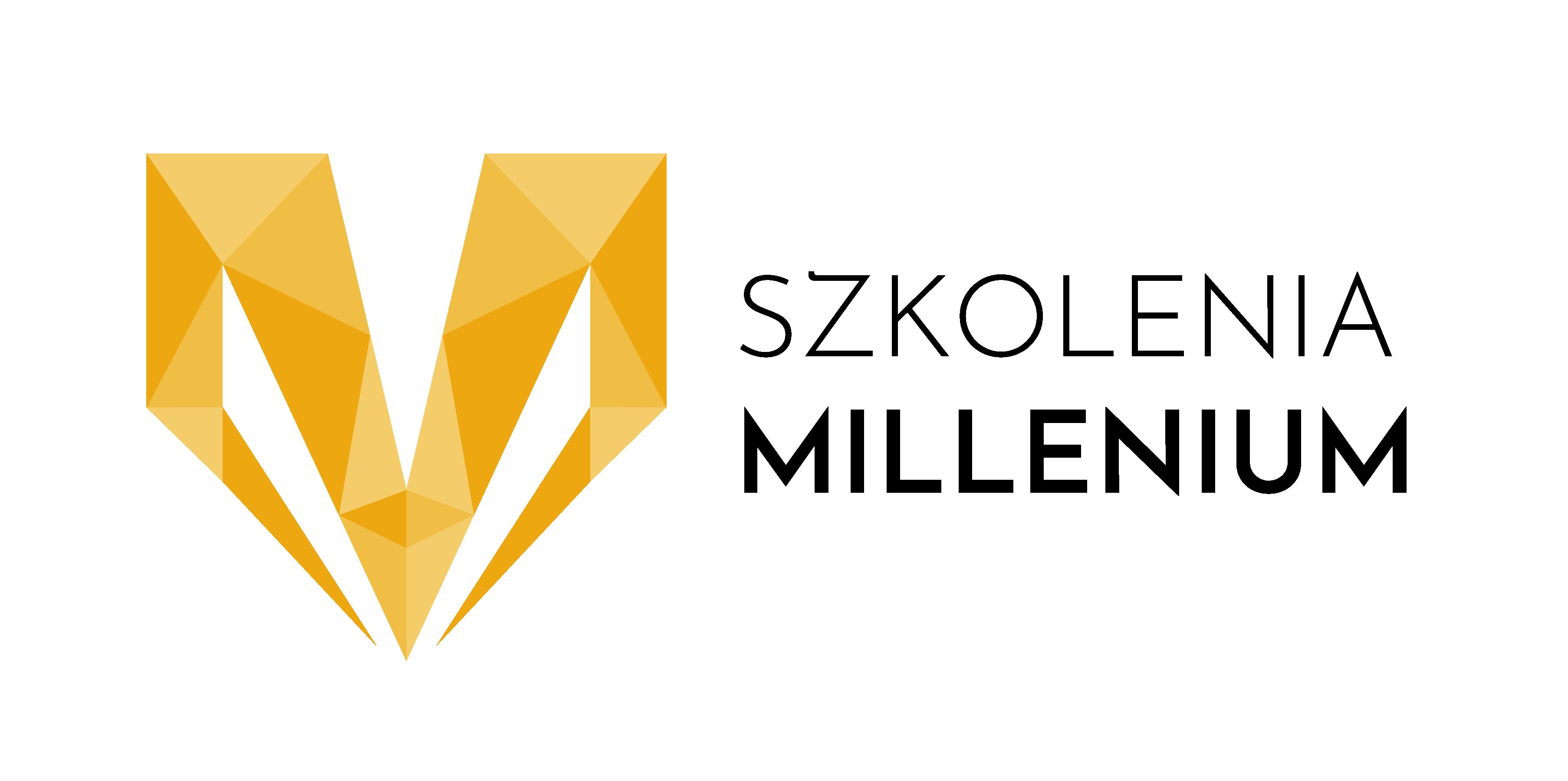 """Logo Ośrodek Szkolenia """"Millenium"""" - Niepubliczna Placówka Kształcenia Ustawicznego"""