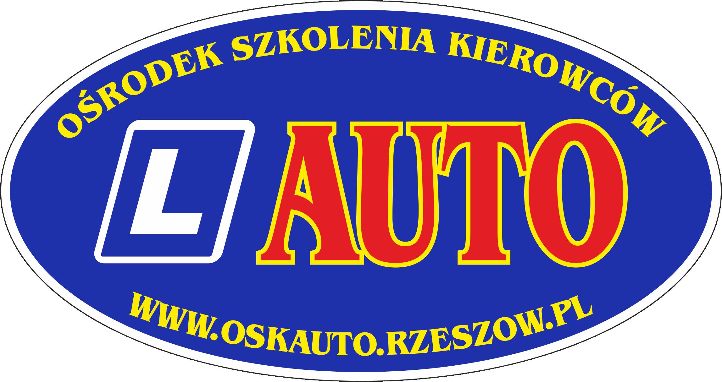 """Logo OŚRODEK SZKOLENIA KIEROWCÓW """"AUTO"""" LESZEK CZOP"""