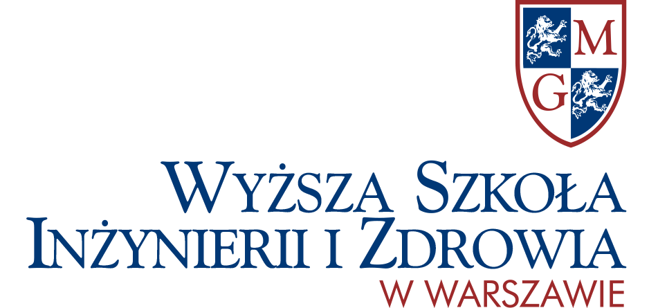 Logo Wyższa Szkoła Inżynierii i Zdrowia w Warszawie