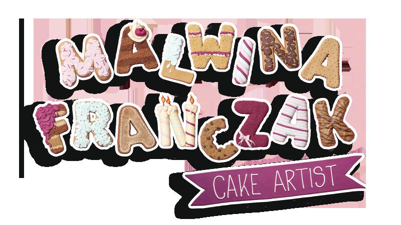 Logo Malwina Franczak - Cake Artist