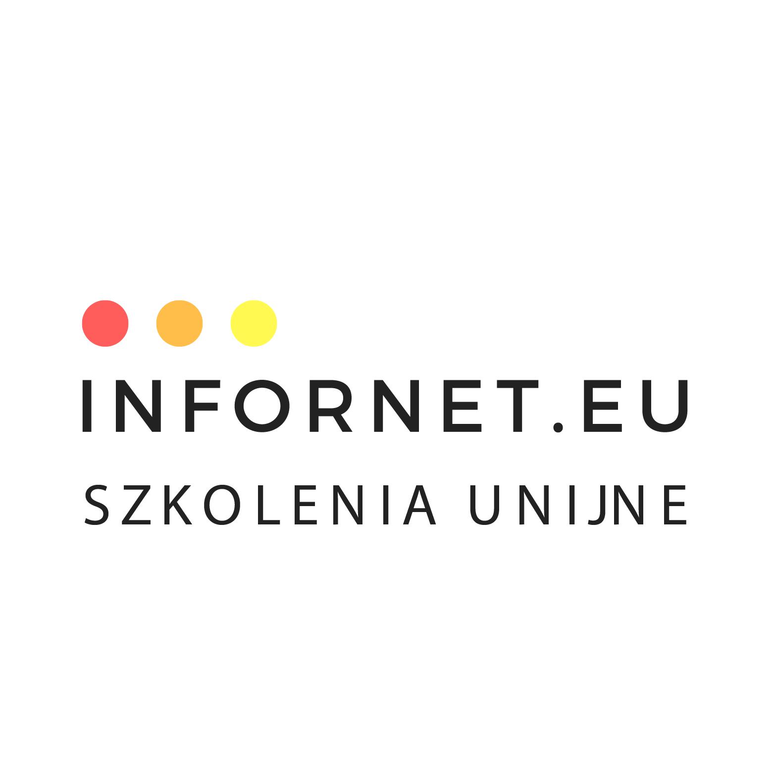 Logo INFORNET.EU SPÓŁKA Z OGRANICZONĄ ODPOWIEDZIALNOŚCIĄ