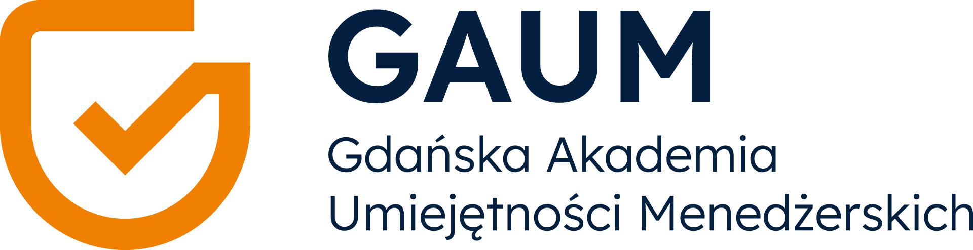 Logo Gdańska Akademia Umiejętności Menedżerskich Joseph Wera