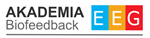 Logo AKADEMIA BIOFEEDBACK EEG Centrum Szkoleniowo-Terapeutyczne Dariusz Skorupa