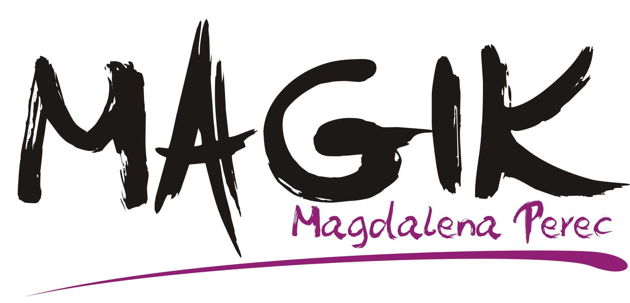 """Logo """"MAGIK"""" MAGDALENA PEREC"""